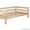 Кровать деревянная 80х190 см #1533965