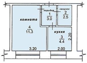 Продам 1-у квартиру со свободной планировкой по адресу Томская область, г. Стреж - Изображение #1, Объявление #1699448