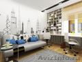 Дизайн интерьеров жилых и общественных помещений,  авторский надзор