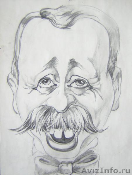 рисую Шаржи, Портреты, Объявление #526145