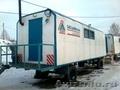 Продам вагончики строительные на шасси