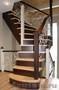 Лестницы из различных древесных пород по индивидуальному дизайн-проекту