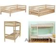 Деревянные кровати одноярусные и двухъярусные, Объявление #1505760