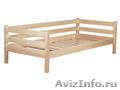 Кровать деревянная 80х190 см